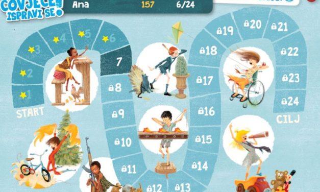 Čovječe, ispravi se – učenje o dječjim pravima kroz igru