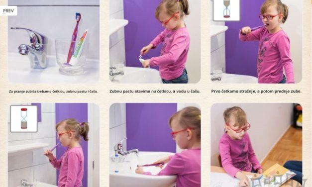 Uz aplikaciju e-Galerija dijete može stvoriti svoju priču, igrati se i učiti