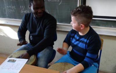 Kratki dječji dokumentarac o nigerijskom azilantu u Hrvatskoj