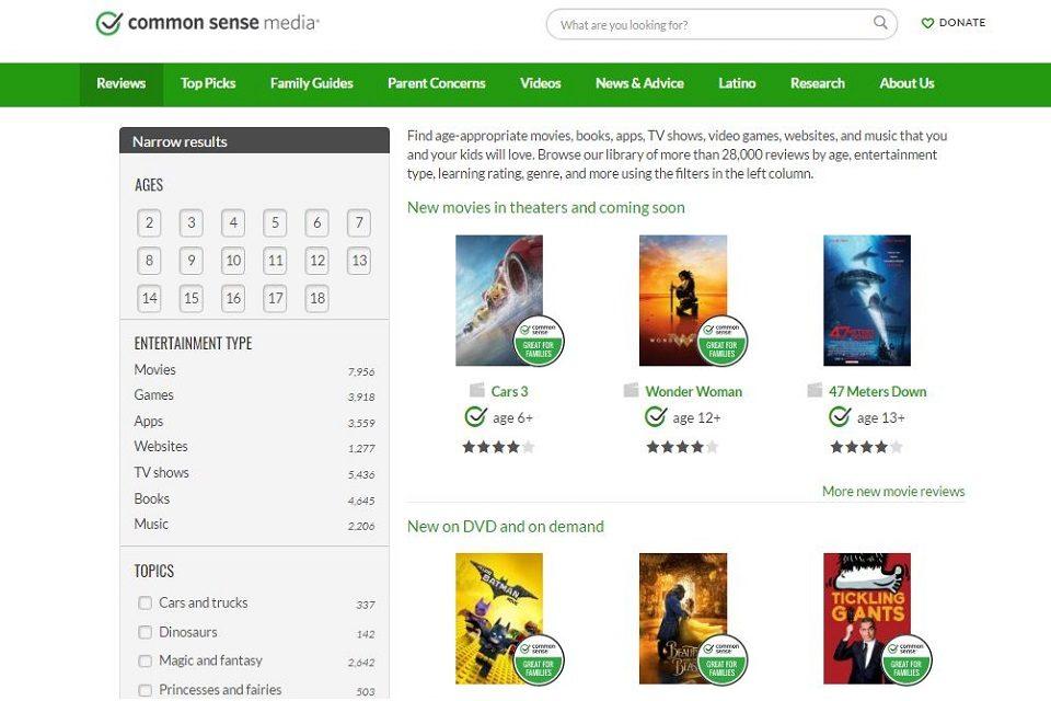 Recenzije filmova, serija, aplikacija, igara… pisane posebno za roditelje