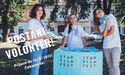 Otvorene prijave za volontiranje na Star Film Festu