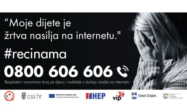 Besplatni telefon za pomoć i podršku u slučaju nasilja na internetu