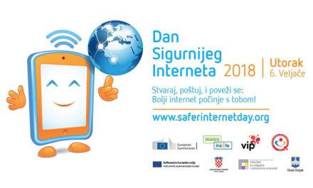 Prijavite se za sudjelovanje u obilježavanju Dana sigurnijeg interneta 2018.