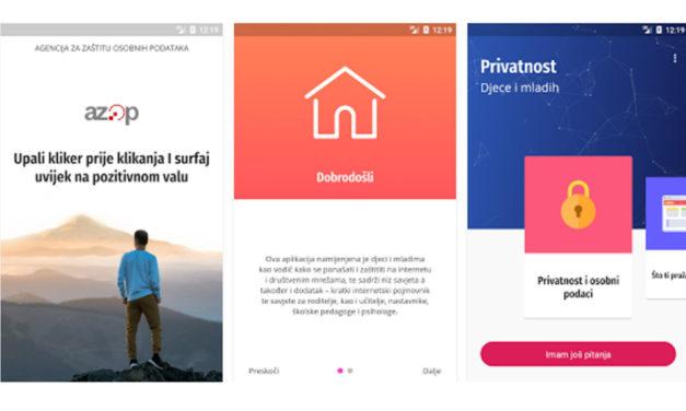 Aplikacija iz koje djeca i mladi mogu učiti o zaštiti osobnih podataka