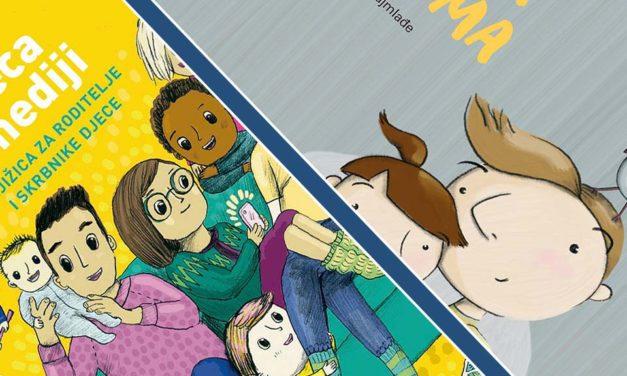 Darujemo vam knjižice za roditelje i slikovnice o medijskoj pismenosti za djecu