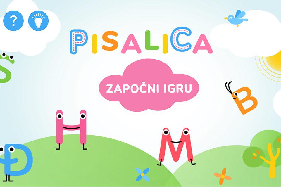 Aplikacija za učenje pravilnog pisanja slova