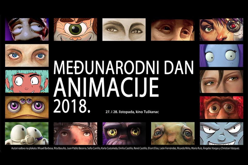 Projekcije animiranih filmova, druženje s autorima, izložba i radionice