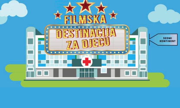 Online platforma s odabranim filmovima za djecu u bolnici