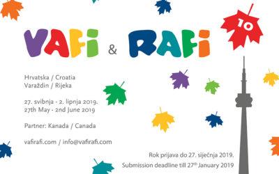 Prijavite svoje animirane filmove na 10. izdanje VAFI & RAFI Festivala!