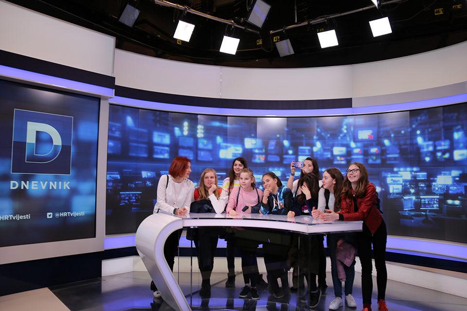 Prva radionica 'Djeca upoznaju medije' održana na HRT-u