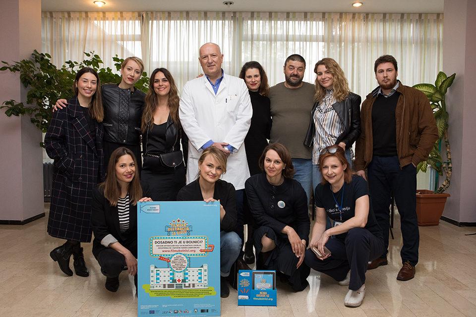 Hrvatsko društvo flmskih djelatnika podržalo projekt 'Film u bolnici'
