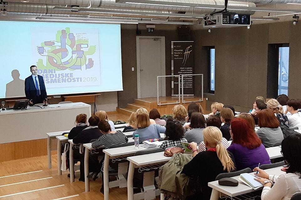 Stručni skupovi o medijskoj pismenosti za učitelje i nastavnike