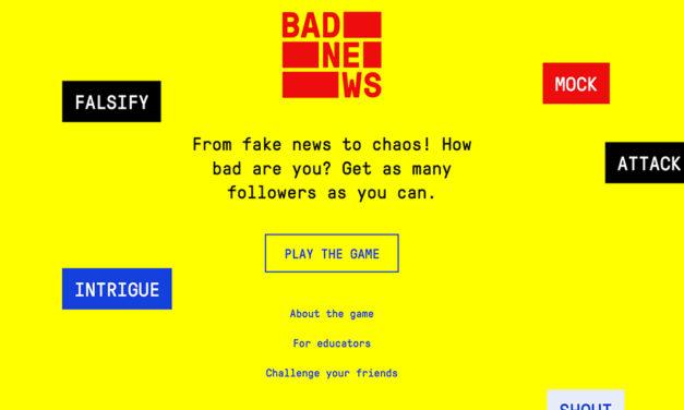 Online igra u kojoj postajete majstor lažnih vijesti
