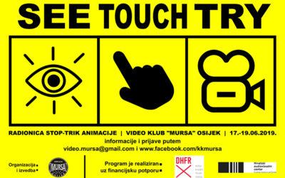 Poziv na besplatnu radionicu Video kluba 'Mursa'