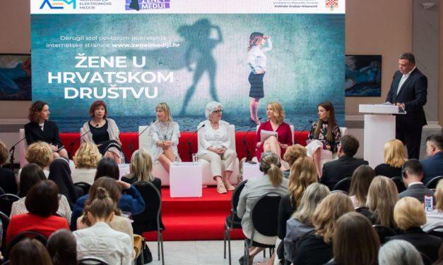 Žene i mediji: nova internetska stranica Agencije za elektroničke medije