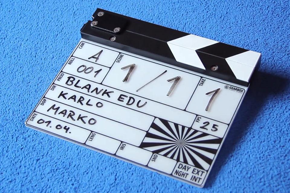 Čemu služi filmska klapa i kako se koristi