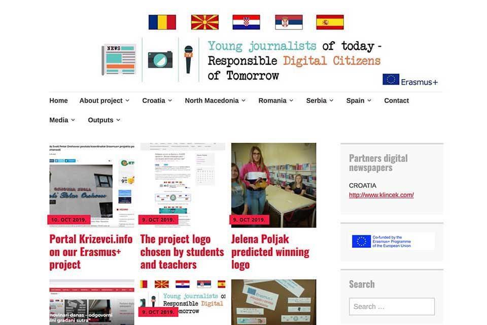'Mali novinari danas – odgovorni digitalni građani sutra'
