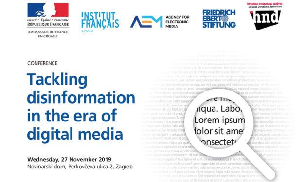 Međunarodna konferencija o suzbijanju dezinformacija u eri digitalnih medija
