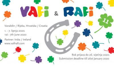 Prijavite svoje animirane filmove na 11. VAFI & RAFI festival