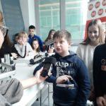 Djeca upoznaju medije: 'Učili smo o tome kako zapravo radi radio'