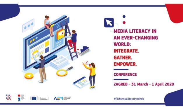 Vodeći svjetski stručnjaci na konferenciji o medijskoj pismenosti u Zagrebu