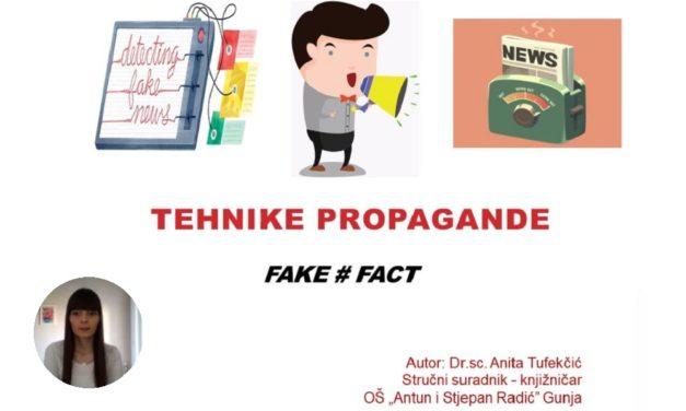 Video lekcija: Tehnike propagande
