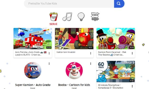 YouTube Kids – Vodič za roditelje