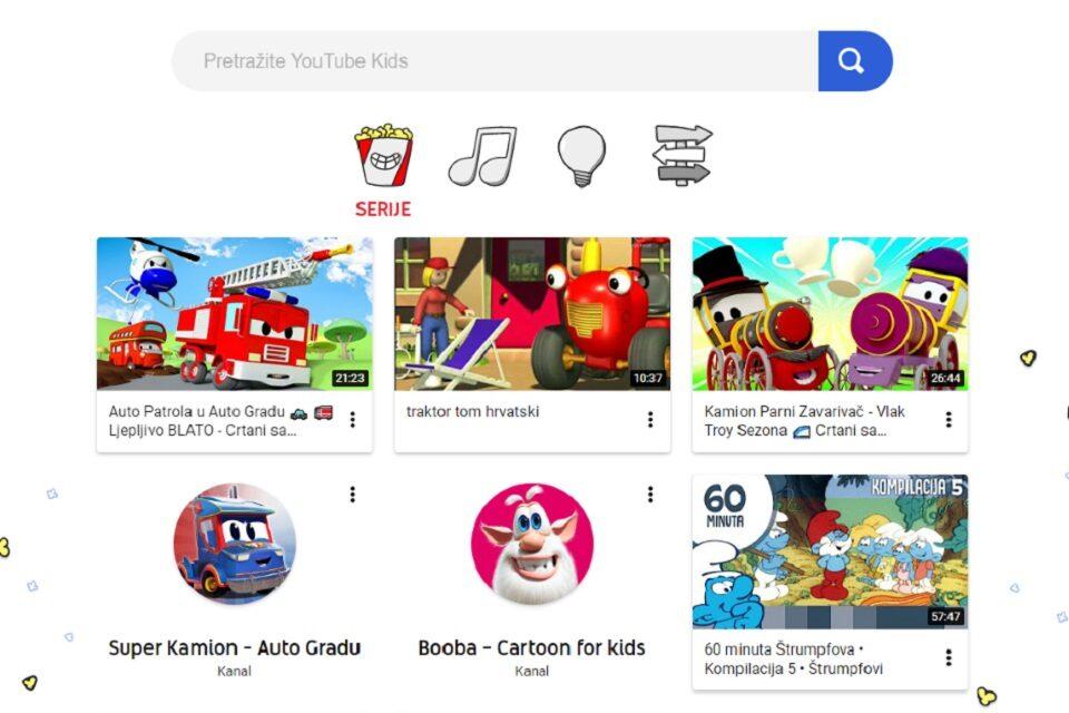 YouTube Kids – Vodič za roditelje