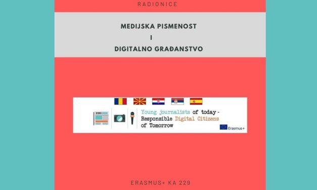 E-knjiga s radionicama medijske pismenosti i digitalnog građanstva