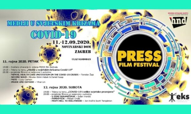 PRESS film festival: Filmovi i tribine o medijima i krizi COVID-19