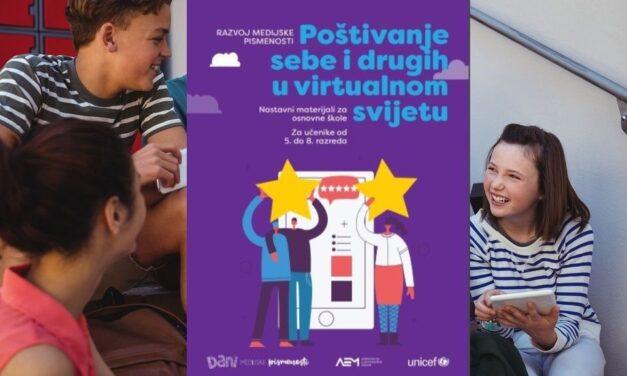 Poučite djecu kako poštivati sebe i druge u virtualnom svijetu