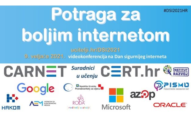 Videokonferencija i interaktivna igra na Dan sigurnijeg interneta