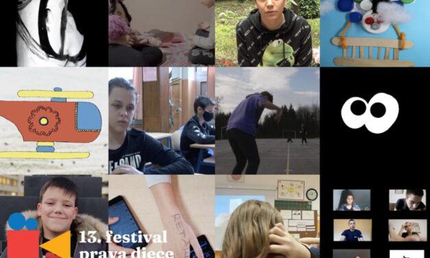 Otvoren 13. Festival prava djece s filmovima dostupnima online